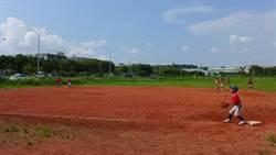 缺乏練習場地 追分國小棒球隊冒險苦練