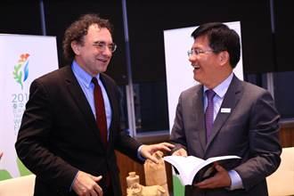 國際自由聯盟主席拜會林佳龍 商討台中設立INGO