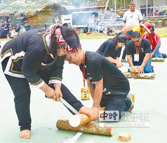 布農族卓社群感恩祭 揭幕