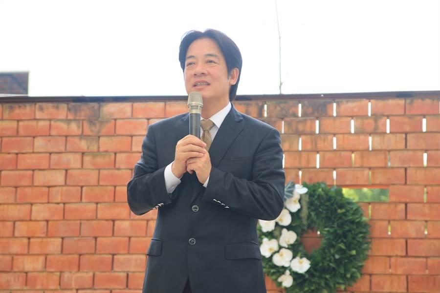 台南市長賴清德。(資料照,莊曜聰攝)