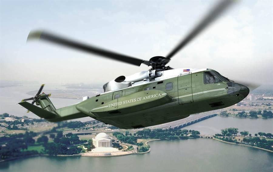 將成為美國總統專屬直升機的VH-92A,它會取代海王式和白鷹式。(圖/美國空軍)
