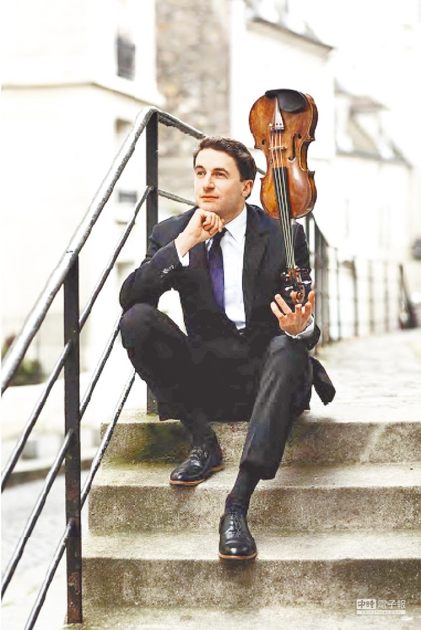 2014年起擔任柏林愛樂新任樂團首席的小提琴家諾亞‧班迪克斯-巴格利(鵬博提供),將首度來台舉行小提琴獨奏會。
