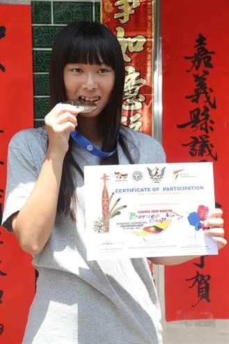 17歲跆拳好手吳姿忞勇奪馬來西亞國際賽金牌
