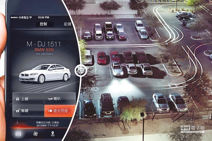 BMW車主在ConnectedDrive Portal網站註冊並開通功能後,即可下載BMW Remote APP(支援iOS、Android)至手機上。(BMW提供)