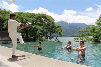 在涵碧樓做瑜珈 恣意享受「舒壓」小旅行!