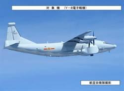陸戰機9日再度繞飛台灣一周