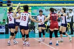 女排亞錦賽》中華輕取馬爾地夫 預賽2連勝