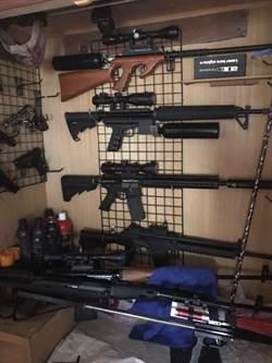 台南紅瓦厝藏兵工廠 警方起出13把長短槍
