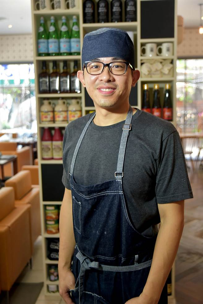 〈Buttermilk餐廳〉的菜式是由擅長美式料理的主廚江定遠研發設計,他的菜不不花俏,很實吃也好吃。(圖/姚舜攝)