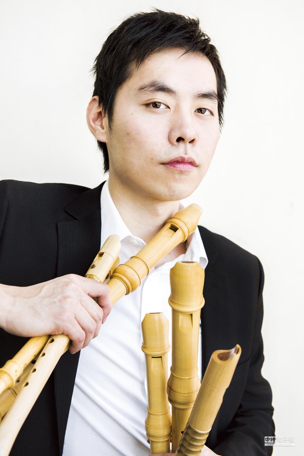 旅歐木笛音樂家梁益彰。圖/主辦單位提供