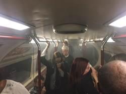 倫敦市中心地鐵傳失火 濃煙密佈 民眾疏散