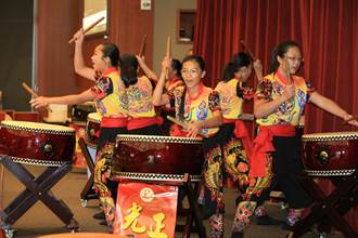 台中囝美國國際童玩節舞獅轟動吸睛