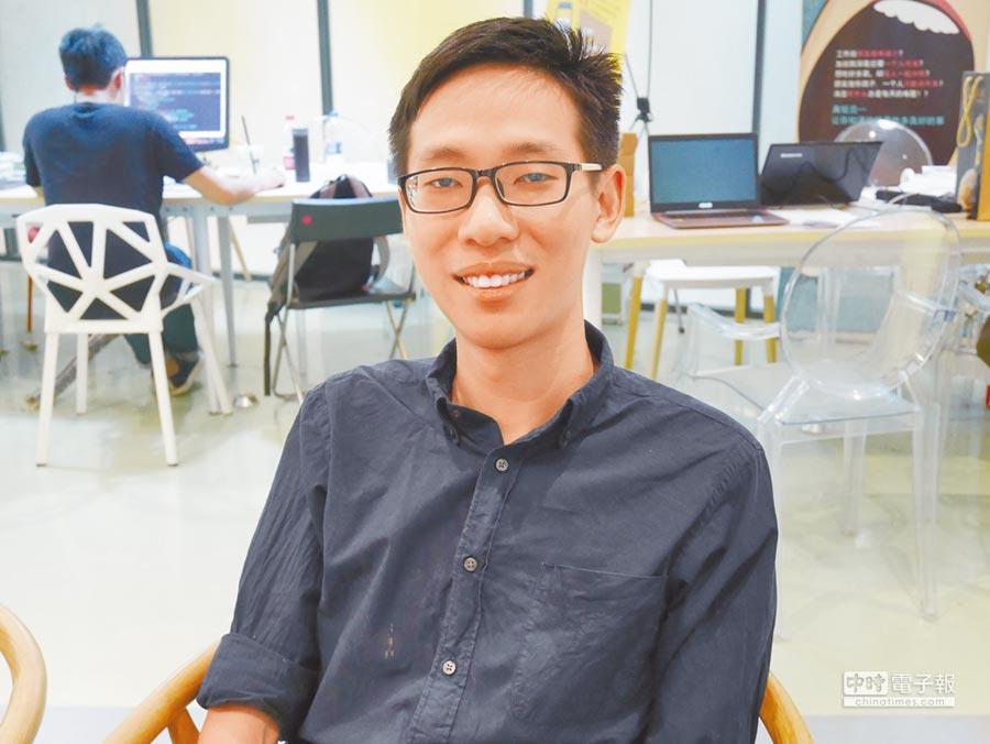 北京清華大學國際政治系三年級台生薛皓認為,兩岸青年唯有多交流才能化解彼此誤解。(記者陳君碩攝)
