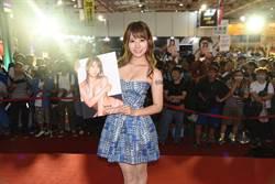 來台會粉絲 日本女優初川南:好熱好潮濕
