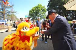 林佳龍出席美國國際童玩節 盼將台灣文化推向國際