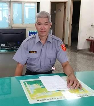 警員陳俊吉堪稱通緝犯剋星 6月至今已逮17人