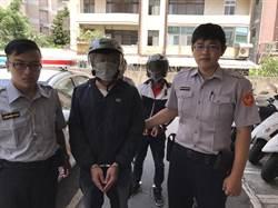 2男穿外套、全罩式安全帽還帶槍 警方逮捕送辦
