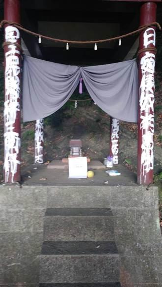 古蹟圓山水神社被蓄意破壞 石狛犬遭竊