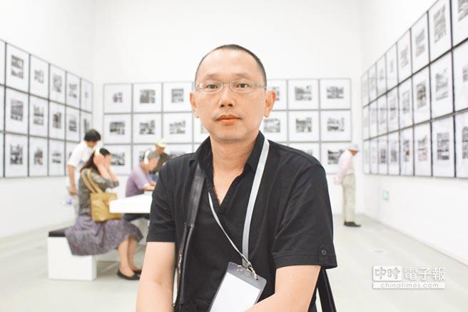 藝術家姚瑞中表示,目前在華山文創園區鮮少看到藝術屬性的展覽,其策展大多打「安全牌」。(本報資料照片)