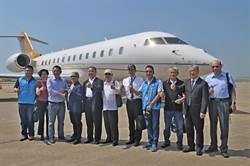 醫療後送專機試飛金門 明年7、8月正式進駐