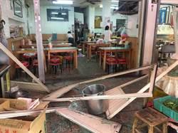 疑換瓦斯釀禍 中市素食店氣爆5傷