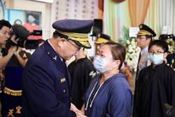 國道警察陳啟瑞遭撞亡  警政署:以「因公殉職」從寬審認