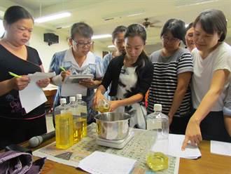 待業者學做手工皂、洗碗精 就地取材創造創業機會