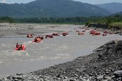 7月颱風攪局 六龜荖濃溪泛舟PK賽今年全面啟航