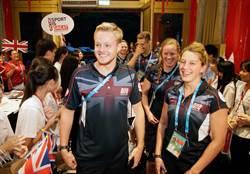 英男女水球隊亮相 女隊長:最想打敗日本紐西蘭