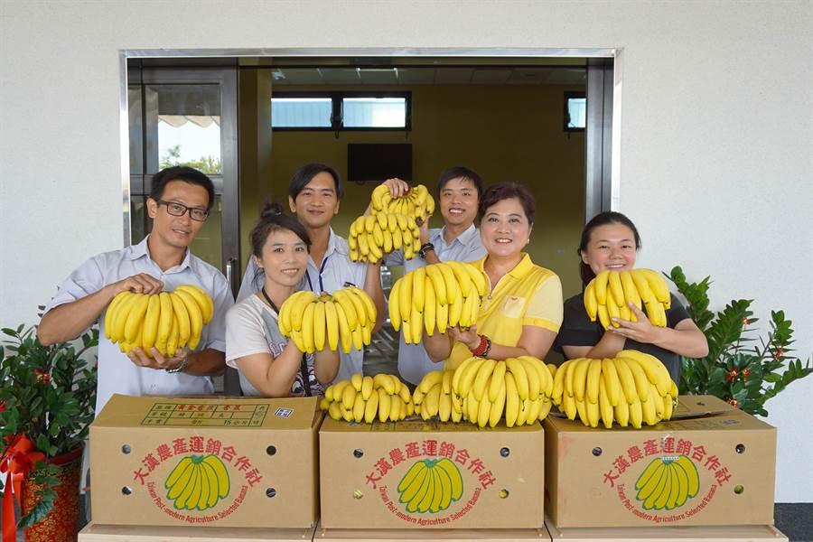 新北市果菜運銷股份公司8月19日推出「香約板橋市場蕉遊趣」香蕉特賣活動。(葉書宏翻攝)