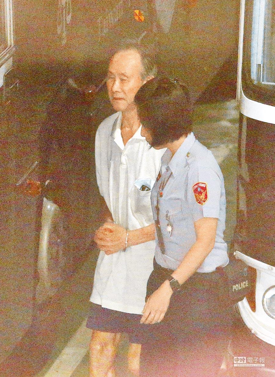 台北地檢署偵辦大巨蛋圖利案,16日首度以他字案被告身分傳喚前總統馬英九,北檢也提訊遠雄集團的創辦人趙藤雄。(王英豪攝)
