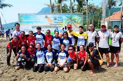 2017世界巧固球沙灘錦標賽 台灣拿下男女雙冠