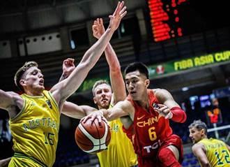 男籃亞洲盃》中國遭澳洲修理 宣告無緣4強