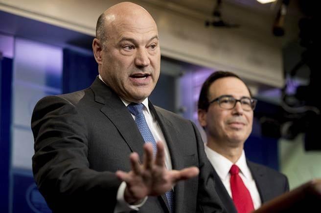白宮首席經濟顧問柯恩,是川普推動稅改的靈魂人物。(美聯社)