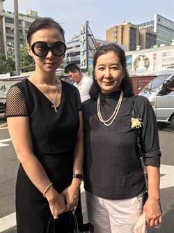 《無間道》台灣推手告別式 蘇明明、翁虹致意