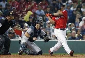 MLB》比肩傳奇!紅襪菜鳥對洋基跨場連2打席開轟