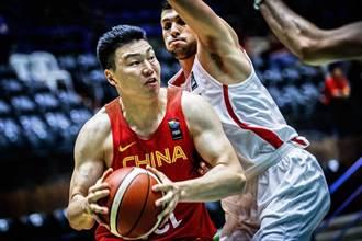 男籃亞洲盃》郭艾倫傷退 中國仍贏約旦31分