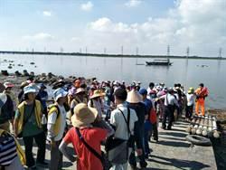 麗水漁港 放流3.2萬尾紅杉魚苗