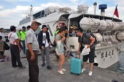 天鴿颱風形成 蘭嶼綠島旅客明天大撤退