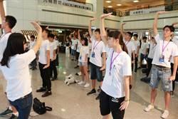 華佗營練八段錦開場 啟發中學生養生觀念