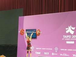 世大運》北韓舉重超強 再奪女子53公斤金牌
