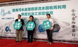 高雄市府推動第二期臨海汙水廠與再生水廠建設