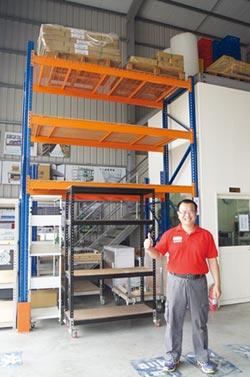 可力爾免螺絲角鋼倉儲設備 免去鎖螺絲組裝的不便