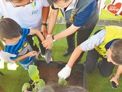 烏日公所空中菜園 邀你當農夫