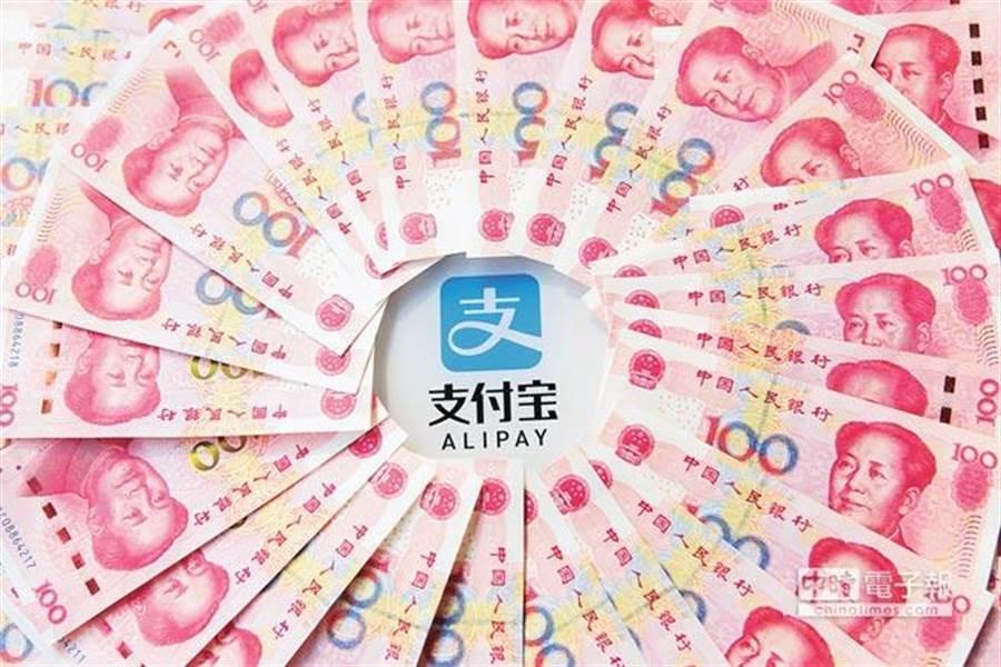 人行對中國大陸第3方支付的監管動作不斷。(中新社)