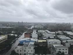 天鴿颱風影響 台東間歇性風雨
