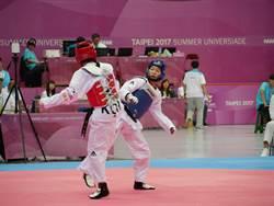 跆拳女子46公斤級 許乃勻首輪苦戰韓吞敗