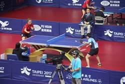 世大運》中華隊女子團體  桌球項目2連勝