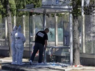 法馬賽公車站遭撞 1死1傷