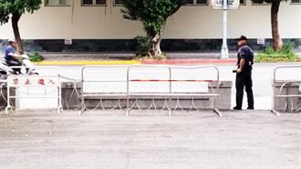 出事後提升戒備 總統府增設崗哨及蛇籠